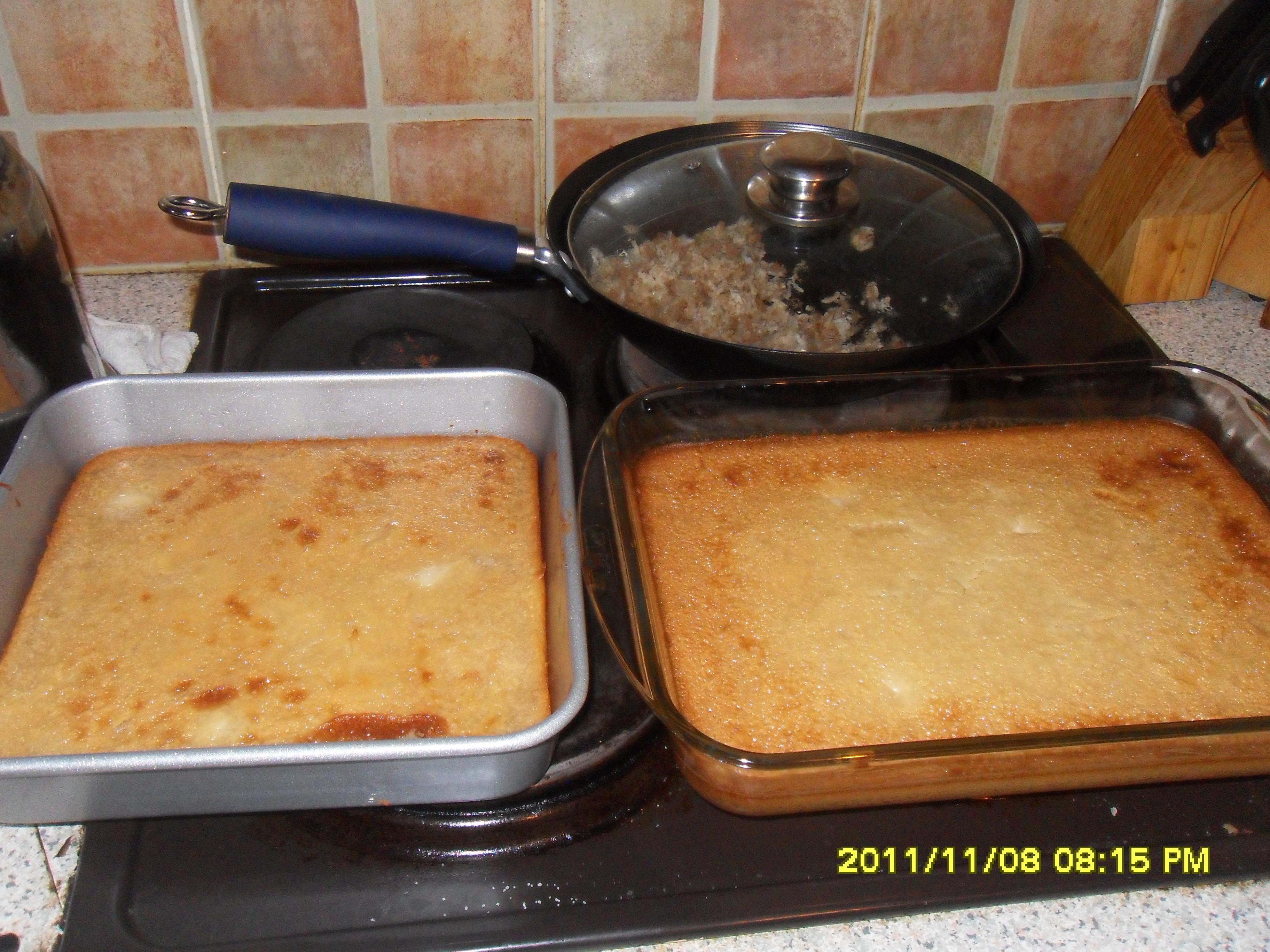 Pinaycookingcorner   Cassava Cake