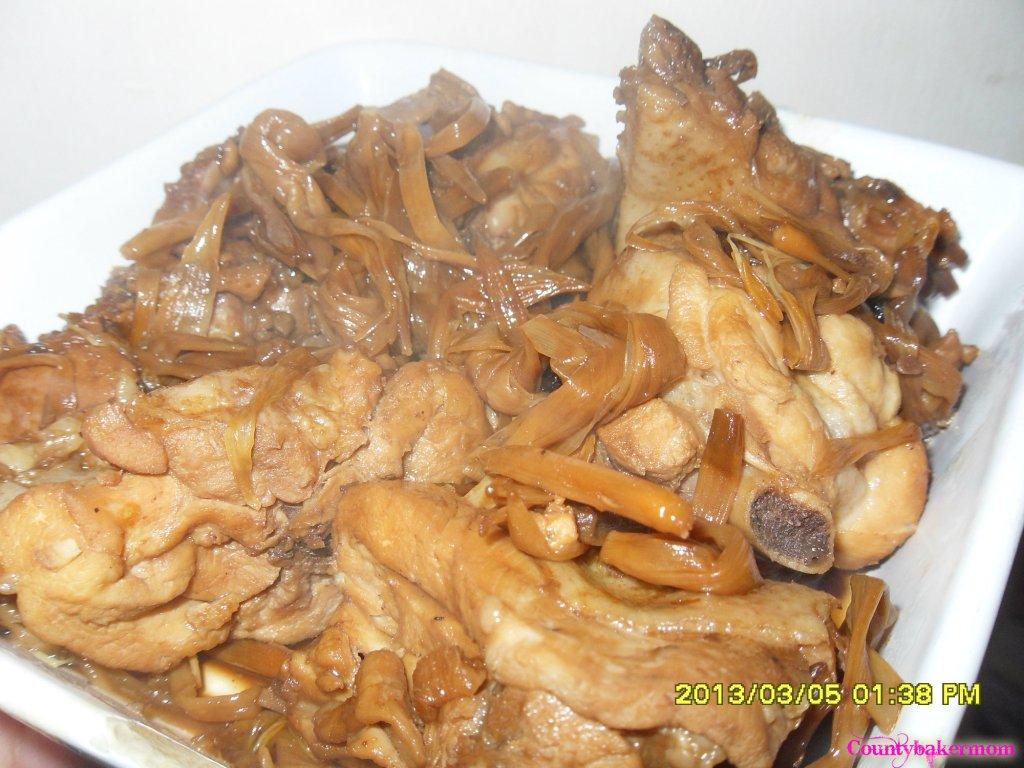 Chicken Humba